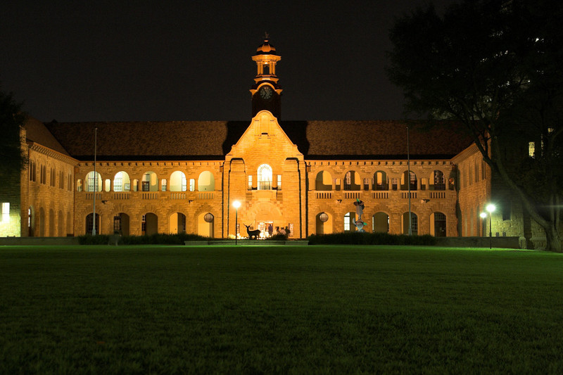 Old Arts building as University of Pretoria.